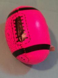 Pink Football Palm Size