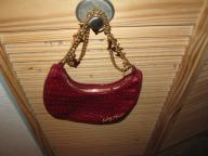 Baby Phat hobo charm purse