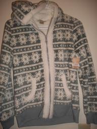 Arizona Girls hooded zip sweatshirt size 14/16