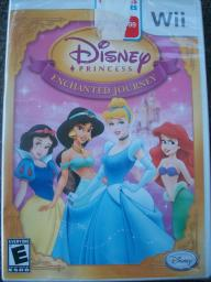 Disney Princess Enchanted Journey for Wii~new in shrink