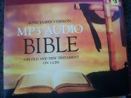 King James Version MP3 Audio Bible on 3 CD's