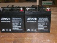 Universal Battery UB12550
