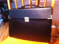 Leather Portfolio Case with Binders