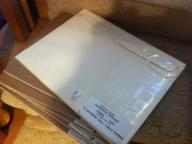 Ivory envelopes that go with Coordinating postcards