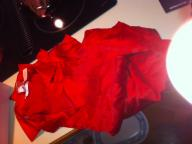 Red Satin Pajama's woman's LG Victoria's Secrets