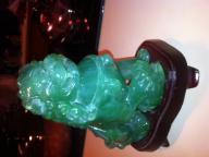 Jade facsimile Chinese Lion