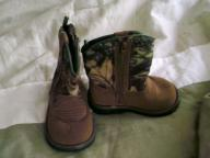 Faded Glory cowboy boots size 4