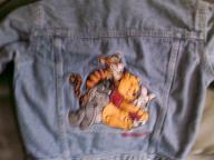 Pooh Bear blue jean jacket