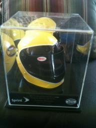 Jimmie Johnson signed mini helmet