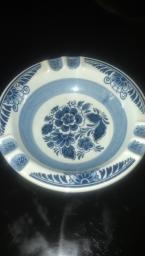 Delft blue ash tray