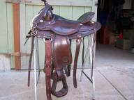 circle y  western saddle for sale