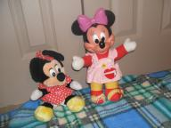 TWO DARLING LITTLE MINIE MOUSE A GREAT GIFT I