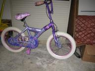 Just miss training wheels on this bicycle[ Br
