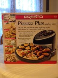 Presto Pizzazz Plus rotating oven