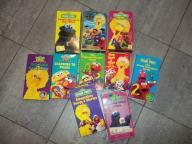 Set of 10 Sesame Street VHS Tapes