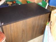 Slate-topped storage chest