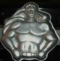 superman cake pan