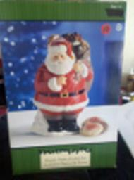 Santa Clause Cookie Jar Collectable