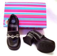 NEW The Kids Source Girls TKS Heal Slip On Loafers Size 12 MED