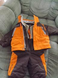 Columbia Snow Pants and Matching Jacket - Size 12 Month