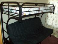 fouton bunk bed used in very nice shape