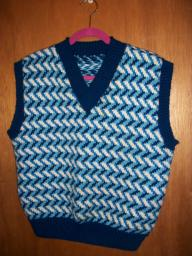 Dark blue Men's Vest