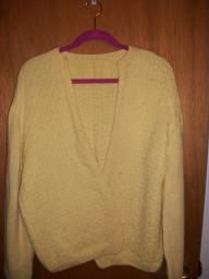 Long sleeve Yellow Sweater