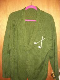 Dark Green Golf sweater