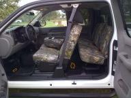Marathon Mossy Oak Camo Seat Covers