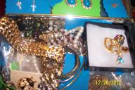 vintage brooches, necklaces, pins, earrings, etc