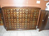 Laywers Wooden File Cabinet
