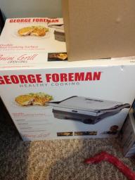 George Forman panini grill