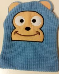 cute monkey knit beanie/hat