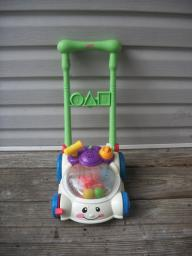 toddler push mower