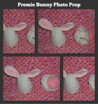 Preemie Bunny Photo Prop