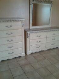 His & Hers Dresser & Stand