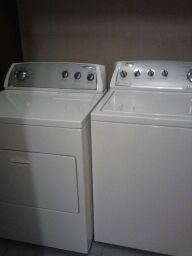 Front Load Whirlpool Washer & Dryer