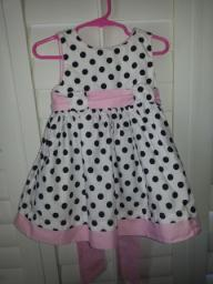 Toddler Polka dot