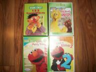 elmos world dvd's