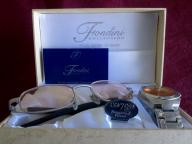 Fondini Collection Men's Watch and Sunglasses Set