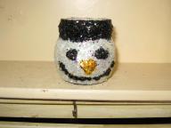 Very cute frosty the snow man jar head 2