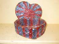 Very cute Heart jar