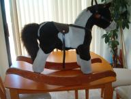 Plush Rocking Horse with With Sound