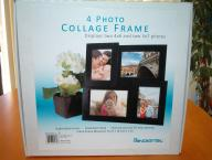 4 Photo Collage Picture Frame