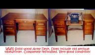 Army Desk