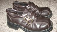 WOMENS AMERICAN EAGLE BROWN DRESS SHOES 7