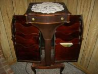 Antique Sheet Music Cabinet....Circa 1900