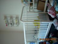 Baby crib set and changing table