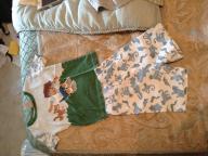 Size 4T Diego pajamas (shorth/short sleeve)