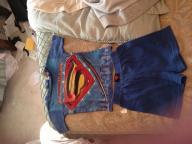 Size 4T Superman shorts pajama set